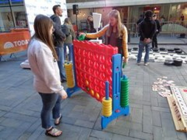 Giant Connect 4 Game Rental