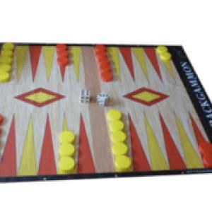 Giant Backgammon