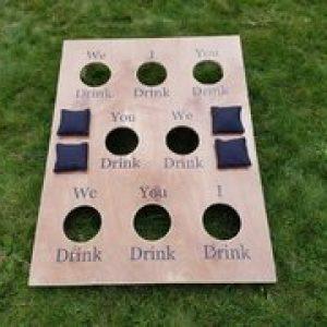 Corn Hole Drinking Game