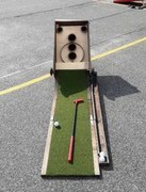 Golf Skeeball Carnival Game