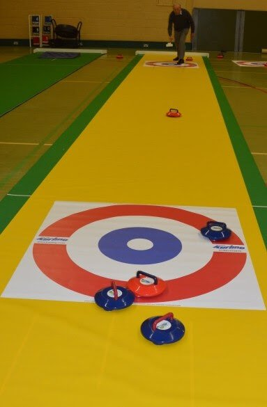 Curling Game Rental